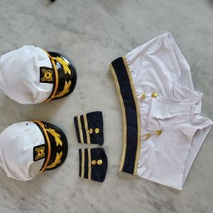 Sailor Shorts with cuffs and 2 hats